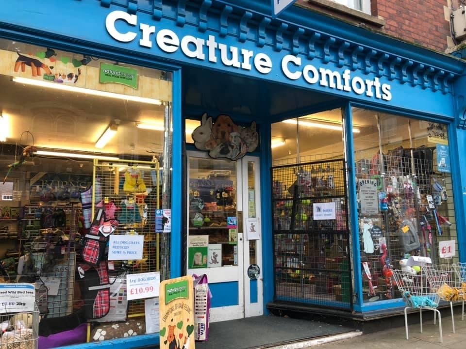 Creature Comforts - Pet Shop - Ross On Wye