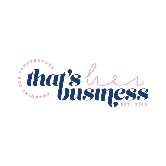 That's Her Business - Branding And Web Design